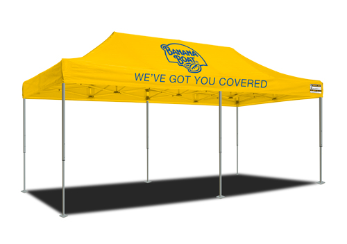 3m x 6m marquee - Banana Boat
