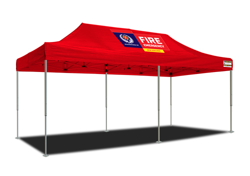 Deluxe Instant Marquee - NZ Fire Service