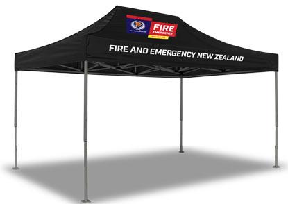 NZ Fire & Emergency marquee