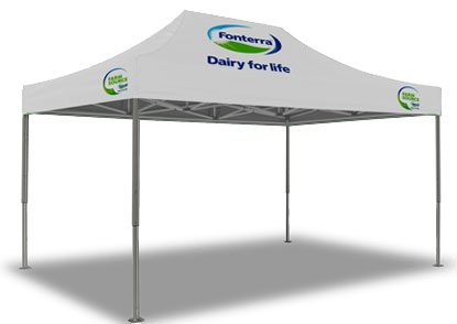 Fonterra Printed Marquee