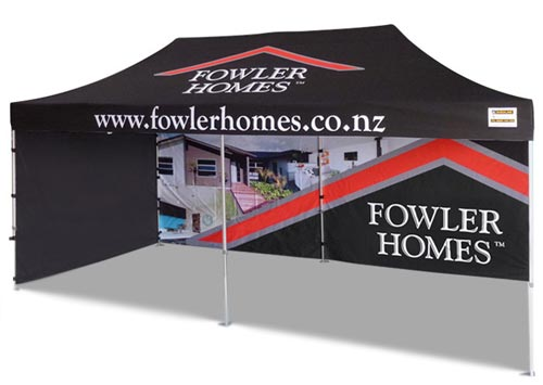 Fowler Homes Real Estate Marquee